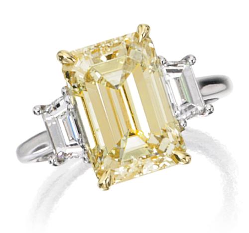 Platinum, 18 Karat Gold and Diamond Ring   Lot   Sotheby's