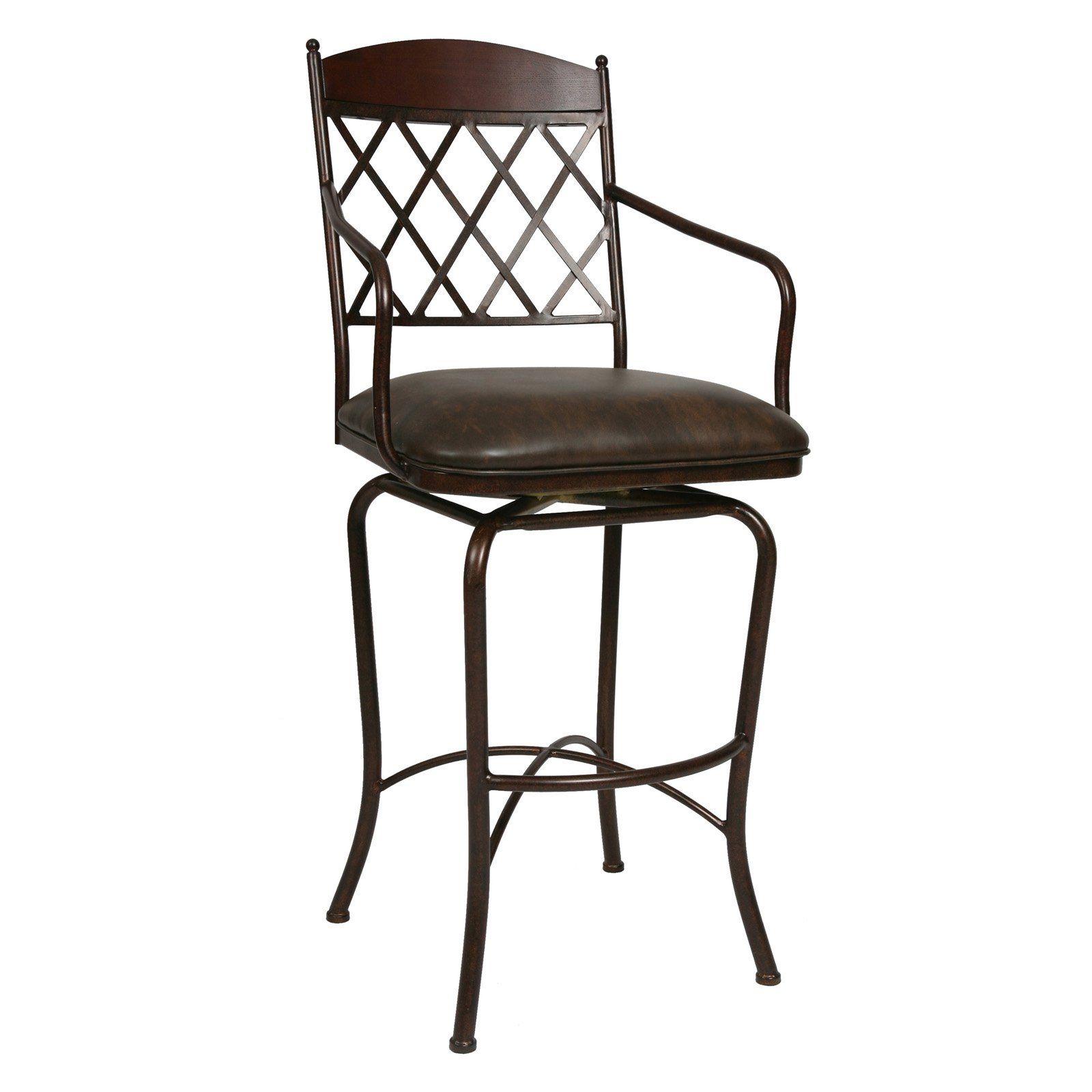Ashley Furniture Flagstaff: Impacterra 26-in. Napa Ridge Swivel Counter Stool With