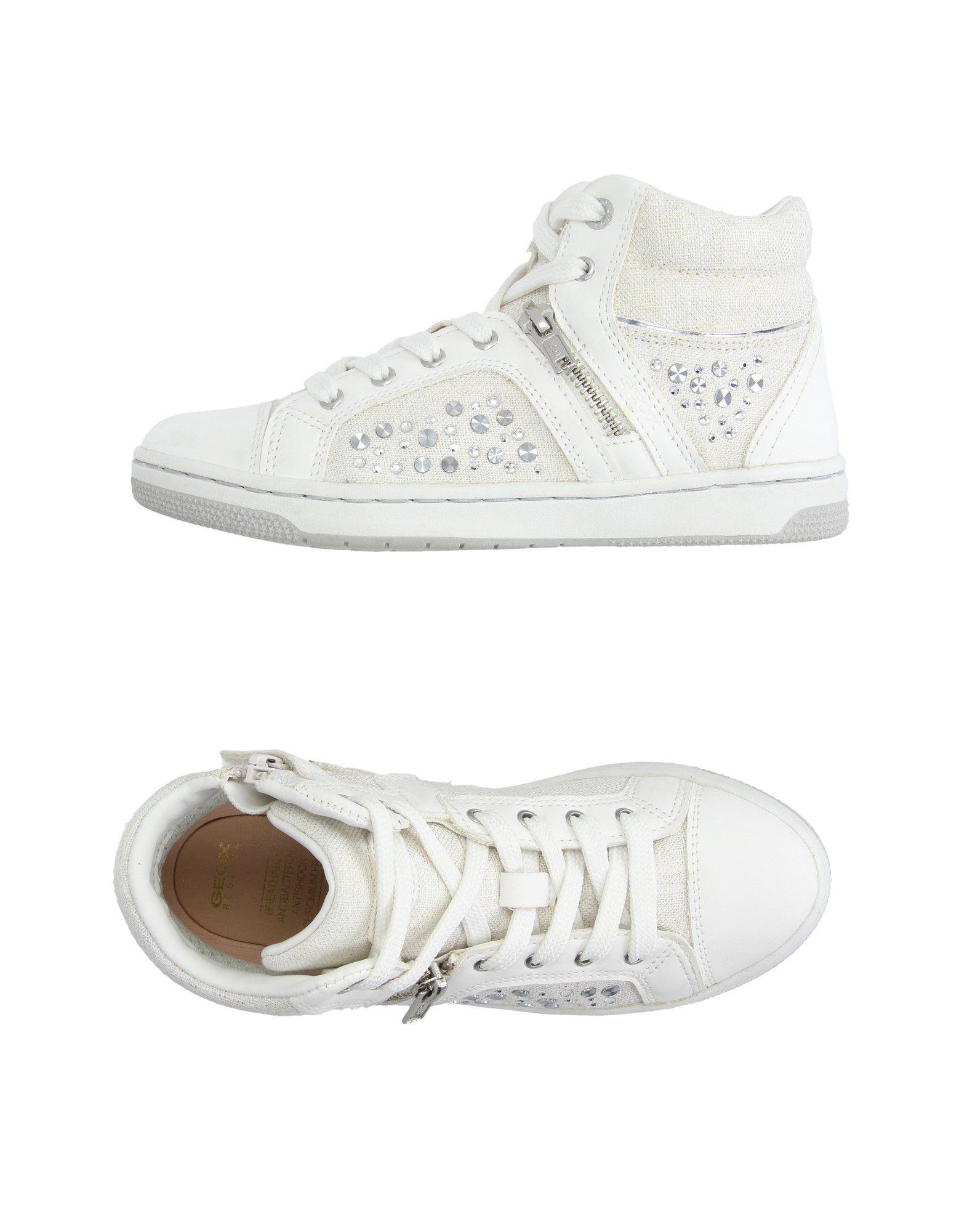 Suburbio profesional Desempacando  Geox Sneakers Girl 9-16 years online on YOOX Canada   Sneakers, Geox, High  tops sneakers