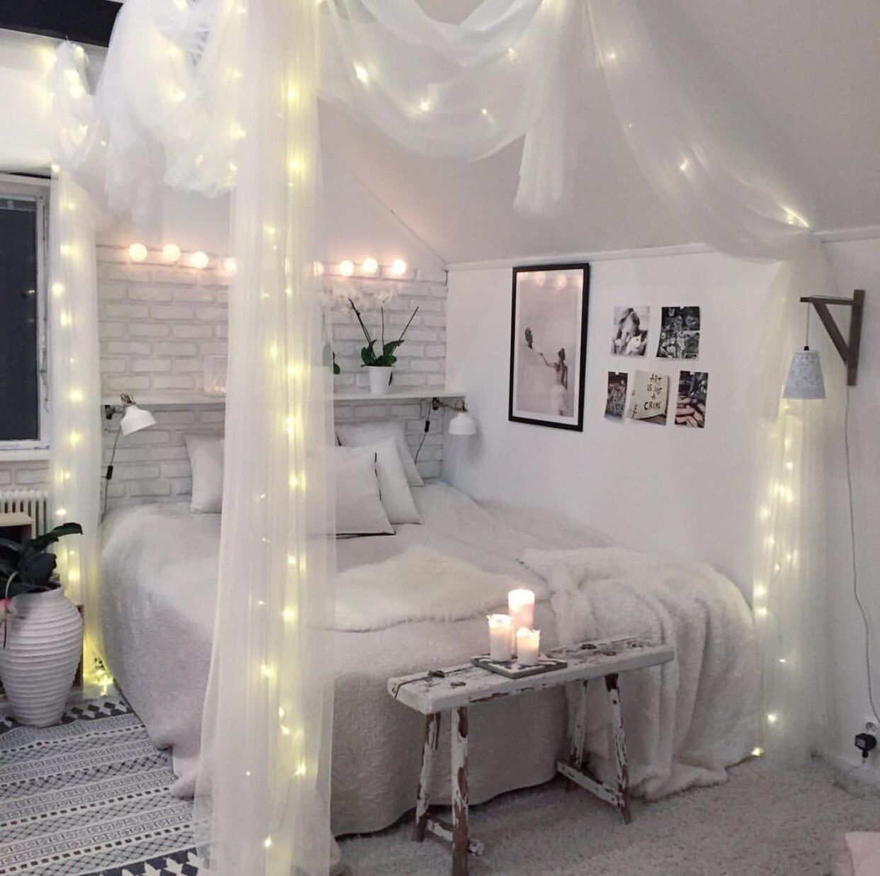 bedroom on we heart it - http://weheartit/entry/270109369