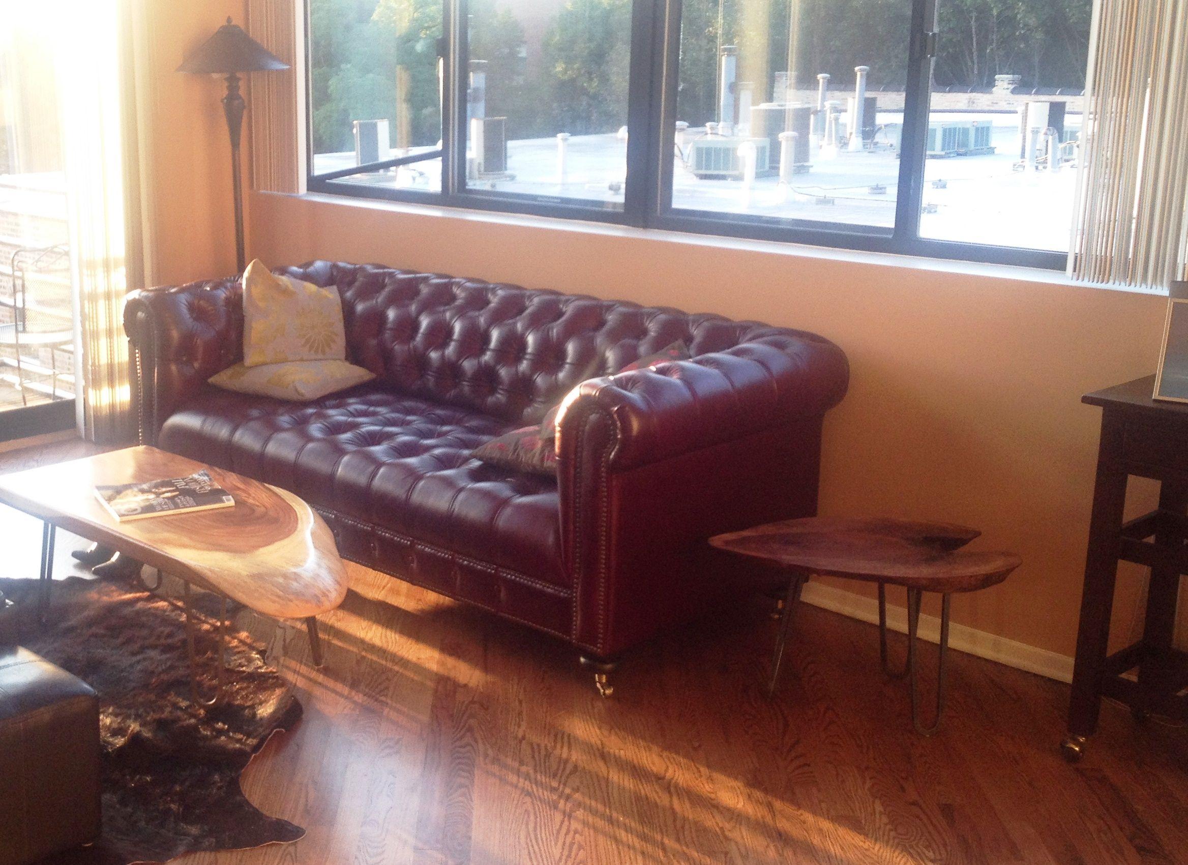 Joybird Theo Leather Sofa from Lena Matz