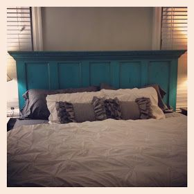 Good Junque: Old Door Headboard