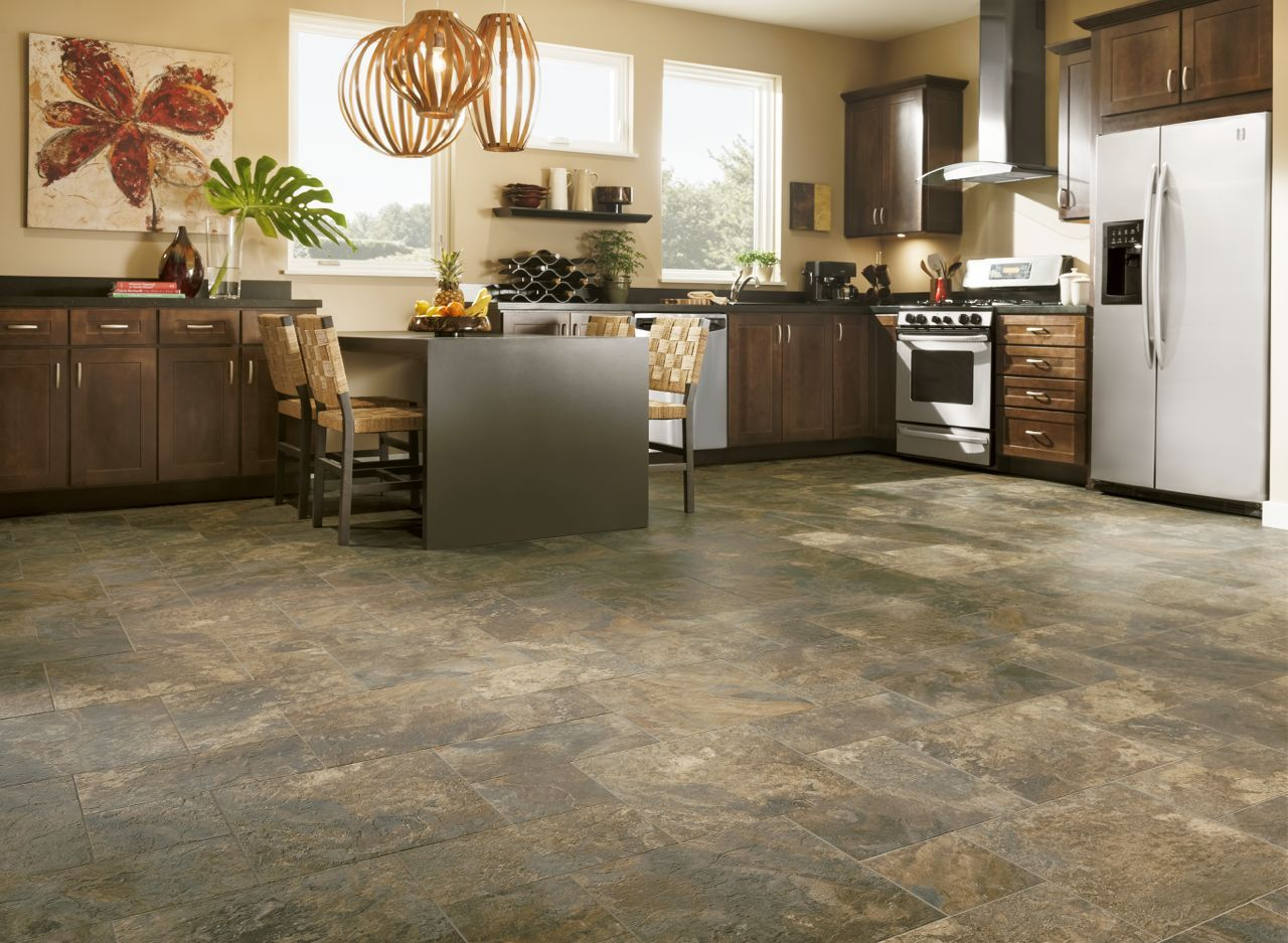 Fresh Vinyl Flooring Kitchen Pictures