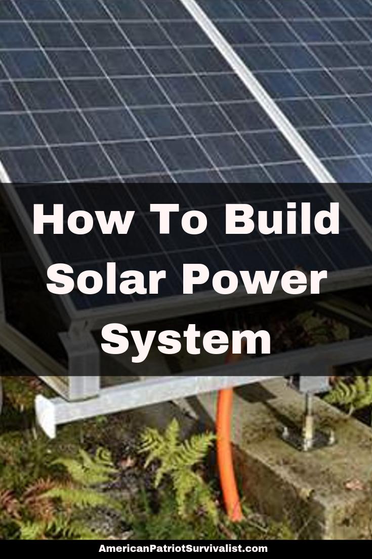 Diy Off Grid Solar System Solar Power Guide Solar Solar Power System Solar Power