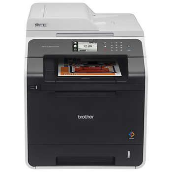 Brother Mfc L8600cdw Color Laser All In One Wireless Networking And Duplex Printing Multifunction Printer Printer Brother Printers