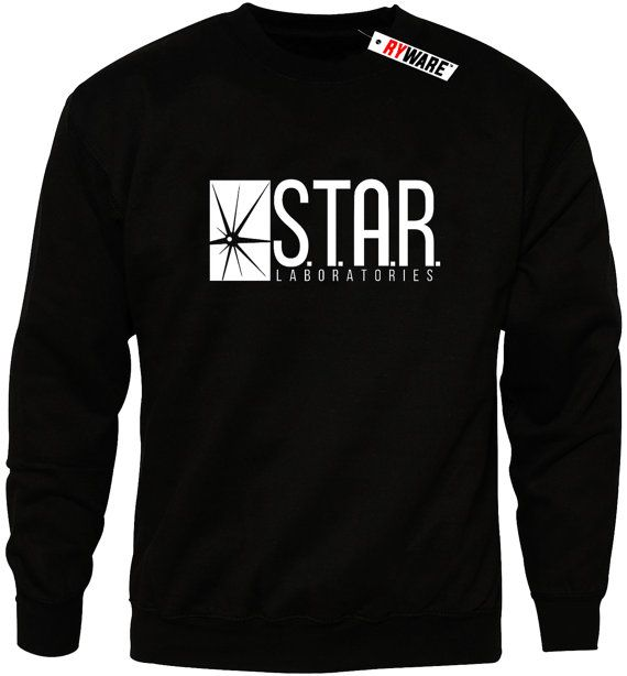S.T.A.R Laboratories Labs Black Sweater by Ryware on Etsy