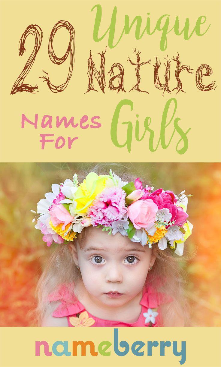 Unique Nature Names for Girls Unique Baby Names