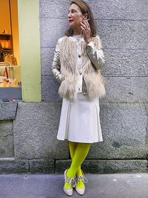 Wait and See presents UBERTA with URBANCODE jacket, VINTAGE skirt, and P.BLANCHET for WAIT AND SEE shoes! Discover our new look!