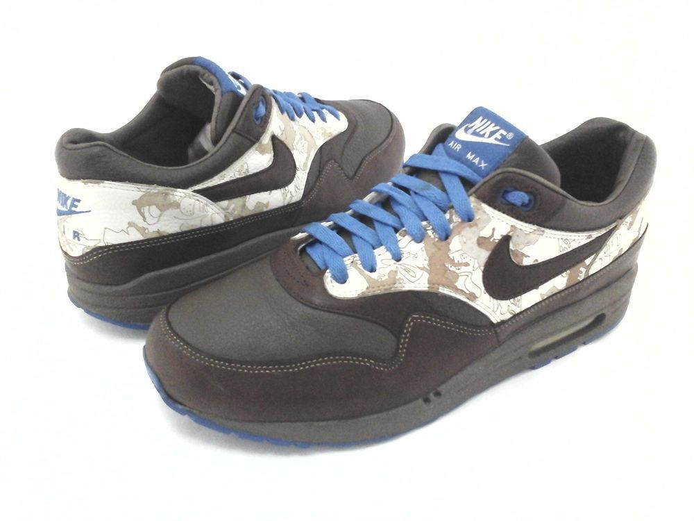3d4d684fcc ... cheap ebay sponsored nike air max 1 sneakers brown leather 2005 309740  truques mens us 10.5