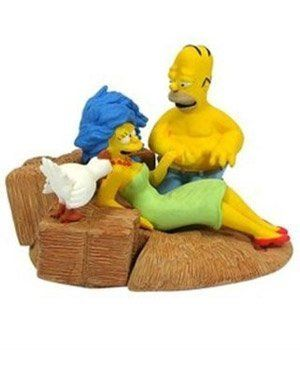 Simpsons Series 5 Valentine Bust Up Homer Marge
