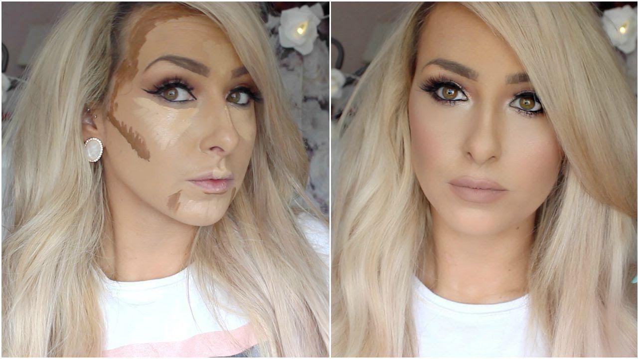 How I Cream Contour And Highlight Drugstore Youtube Makeup