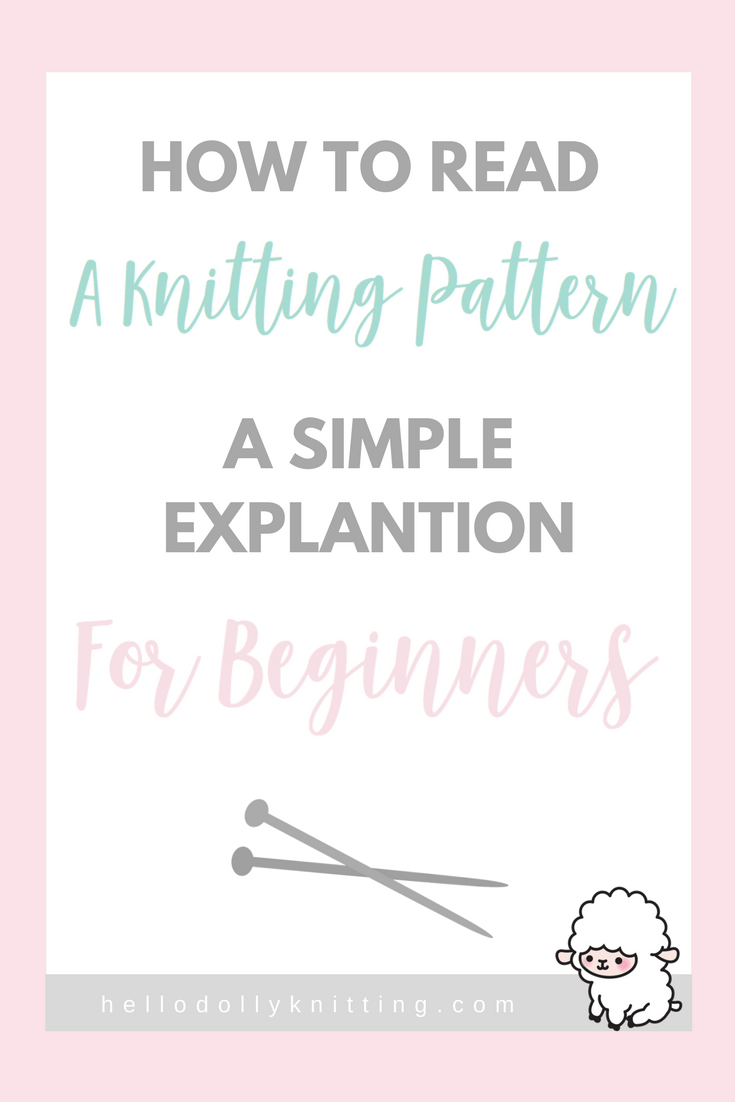 How To Read Knitting Patterns Amazing Ideas