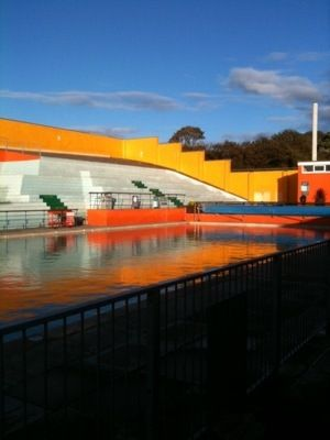 I want to go back here. Portishead Lido. (With images ...