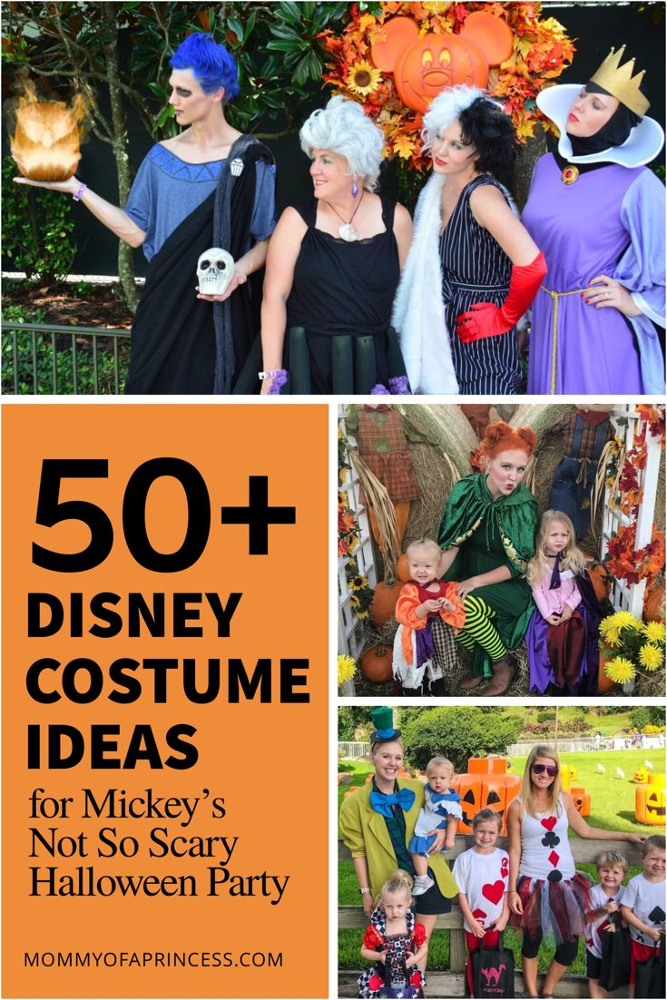 50+ Disney Family Halloween Costume Ideas for this October is part of Mickeys halloween party costumes - If you're attending Mickey's Not So Scary Halloween Party or trick or treating festivities, here are 35 Disney Family Halloween Costume Ideas