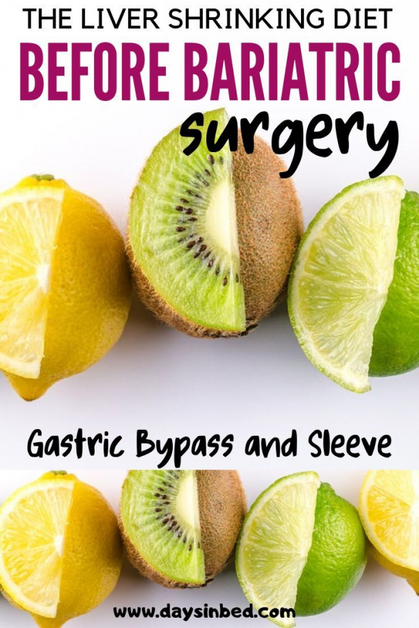 Have You Heard Of The Liver Shrinking Diet Before Bariatric Surgery Gastric Sleeve Or Gas In 2020 Liver Shrinking Diet Bariatric Surgery Recipes Gastric Bypass Recipes