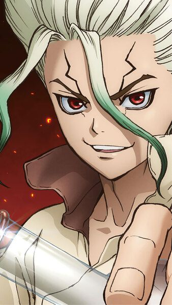 Dr. Stone, Senku Ishigami, 8K, HD Mobile and Desktop