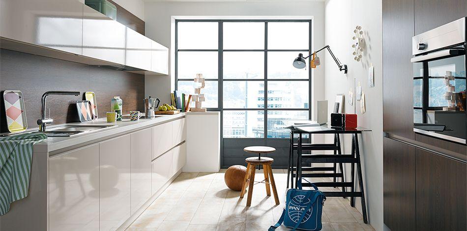sch ller m belwerk kg nova gloss k211 sandgrau hochglanz. Black Bedroom Furniture Sets. Home Design Ideas