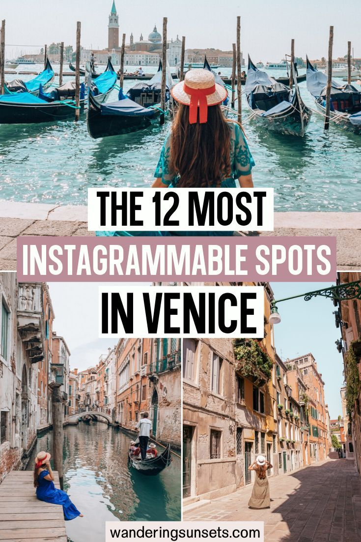 Photo of 12 Most Instagrammable Places In Venice – Wandering Sunsets
