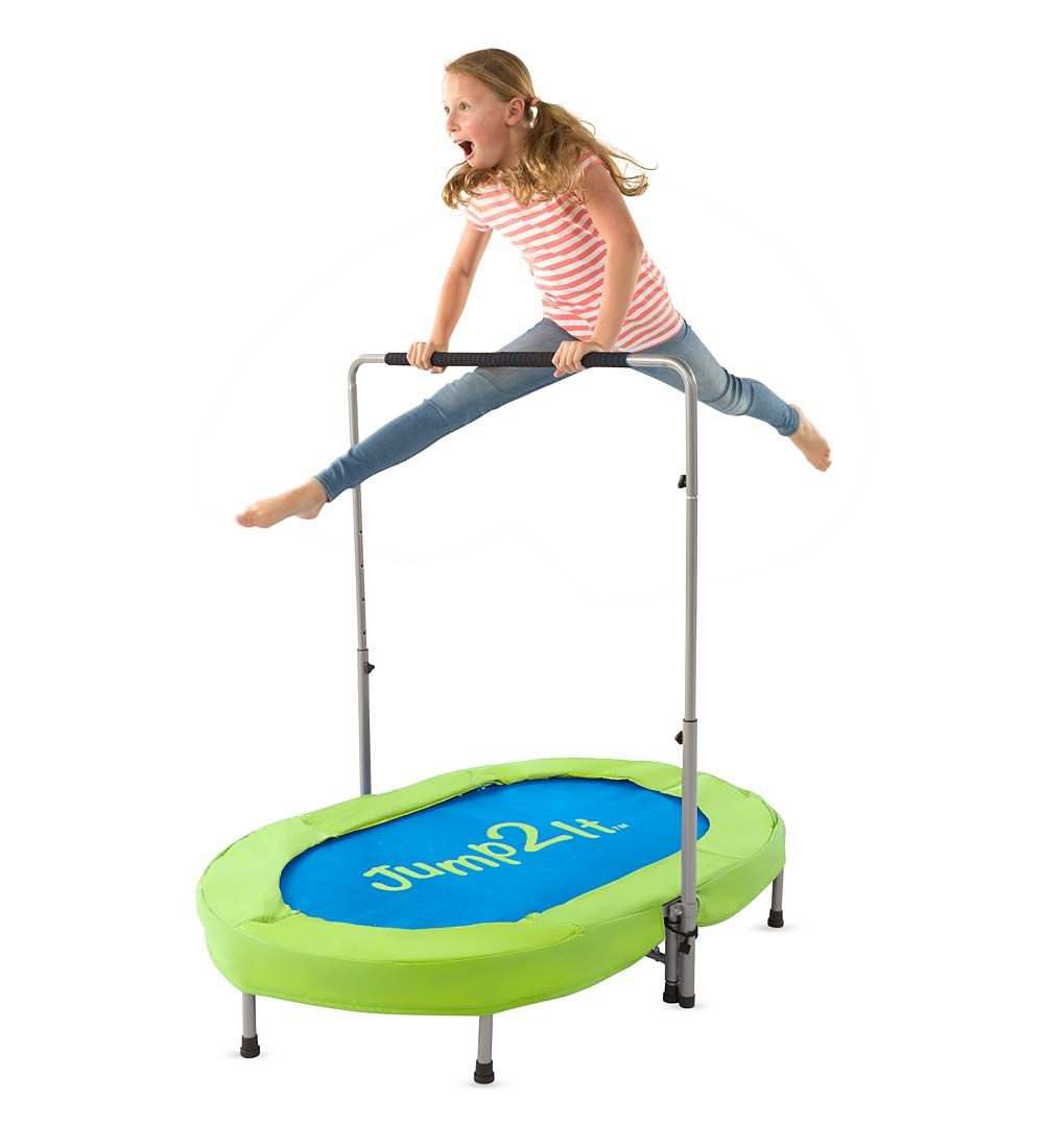 Jump2It Trampoline – Invite a friend or sibling to a jump over on
