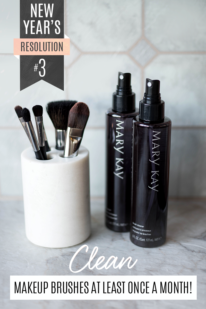 Not sure how to keep your makeup brushes clean? Use Mary