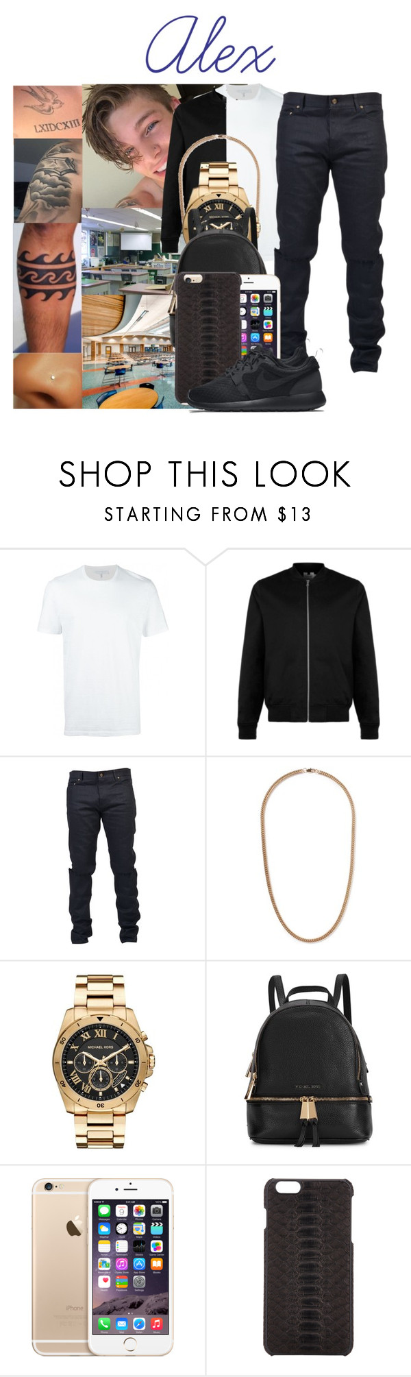 """Chapter 15 : Flirting 💎Read Description💎"" by cholastyle818 ❤ liked on Polyvore featuring Odette, Neil Barrett, Topman, Yves Saint Laurent, Michael Kors, ADOPTED, NIKE, men's fashion and menswear"