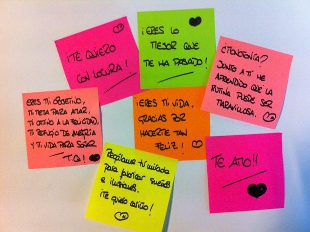 Notitas De Amor Notas Para Mi Novio Notas De Amor Y