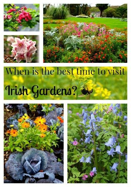 When is the best time to visit Irish gardens? Answers for your Ireland Vacation questions at IrelandFamilyVacations.com