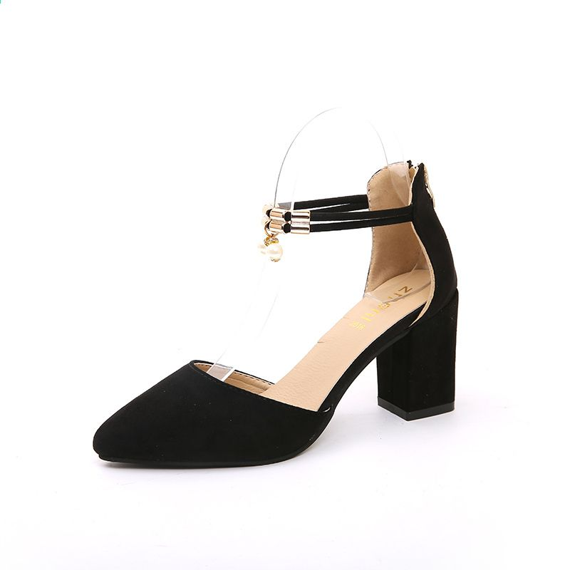 Lato Nowe Buty Damskie Basic Style Fashion Wysokie Obcasy Pointed Toe Office Career Shallow Footwear Women Pumps Women Shoes Women S Pumps Basic Style
