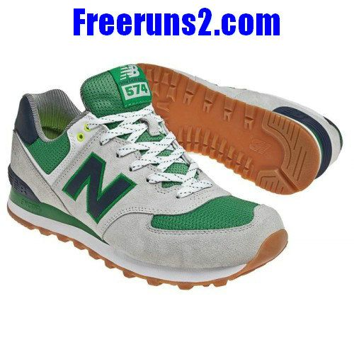New #Balance ML574YCG Yacht Club lovers Green White Grey men NB Shoes  #sport #
