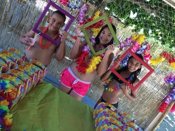 Cumpleaño playero!!! #celebrando #vida #onceaños #princesa #niña #rosa #azul #amarillo #violeta #rojo #puroamor #Diosesbueno #domingo #familia #corazoninflao #mimayortesoro #pedroysharon #buye #caborojo #puertorico #playasolyarena