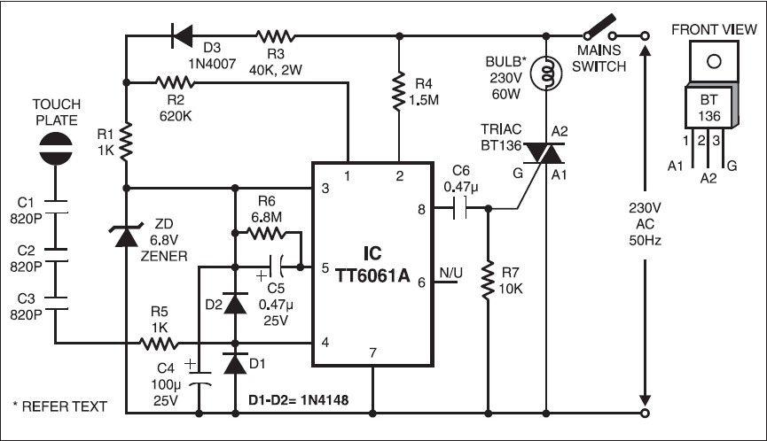 Reparar circuito de interruptor tactil | electro | Pinterest ... on crate vc3112 tube diagram, crate palomino diagram, crate vintage club 50,