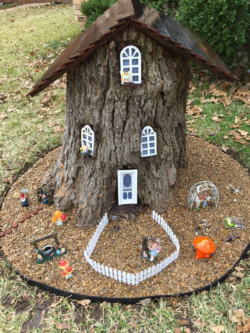Dyi gnome house and how we did it and you will have a lot