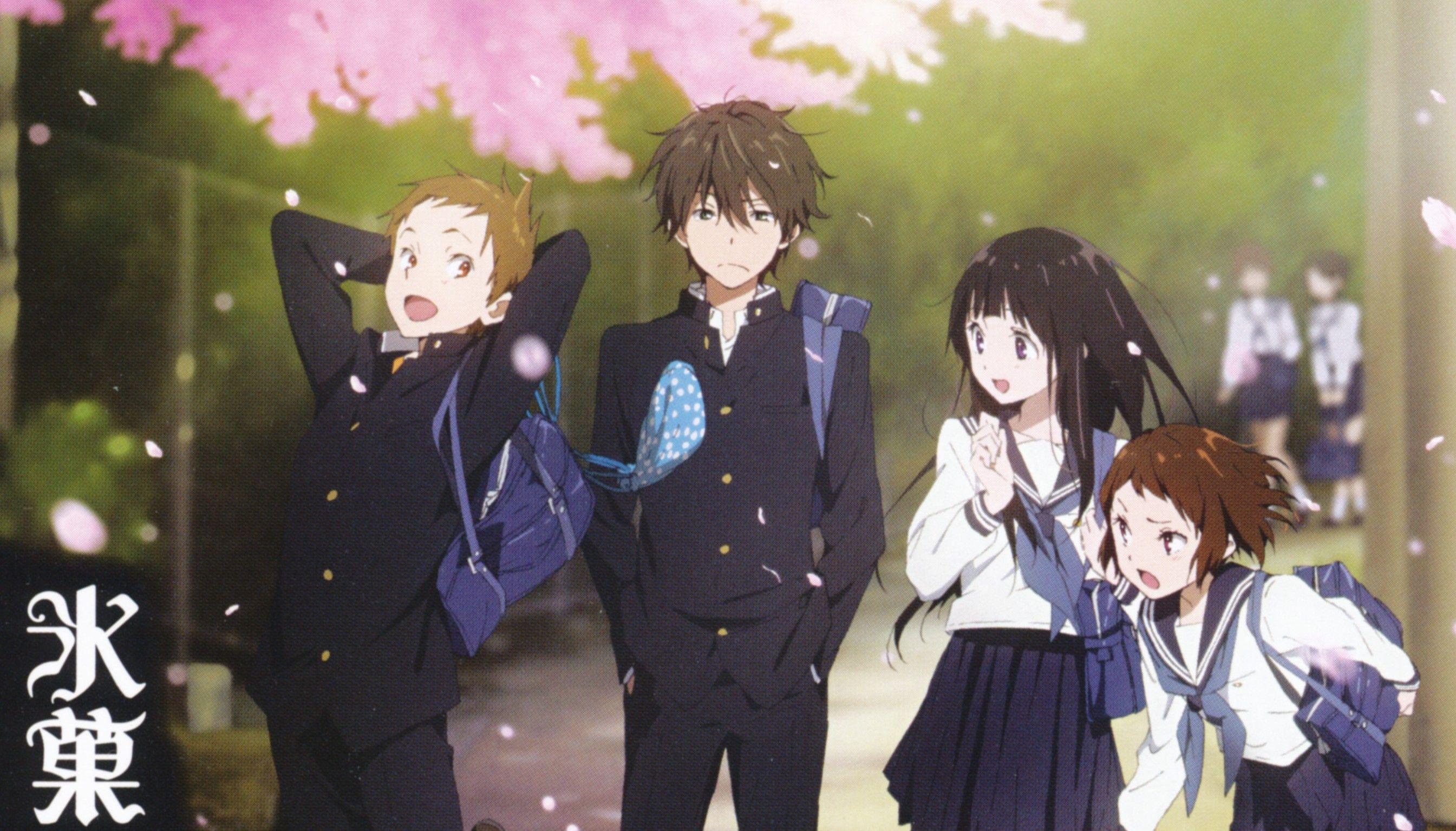 Hyouka 480p + 720p Anime, Imagenes de