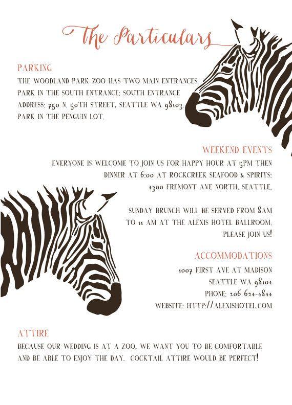 Zoo Wedding Invitations Safari Invitations Africa Party Etsy Zoo Wedding Unique Seating Chart Wedding Wedding Save The Dates