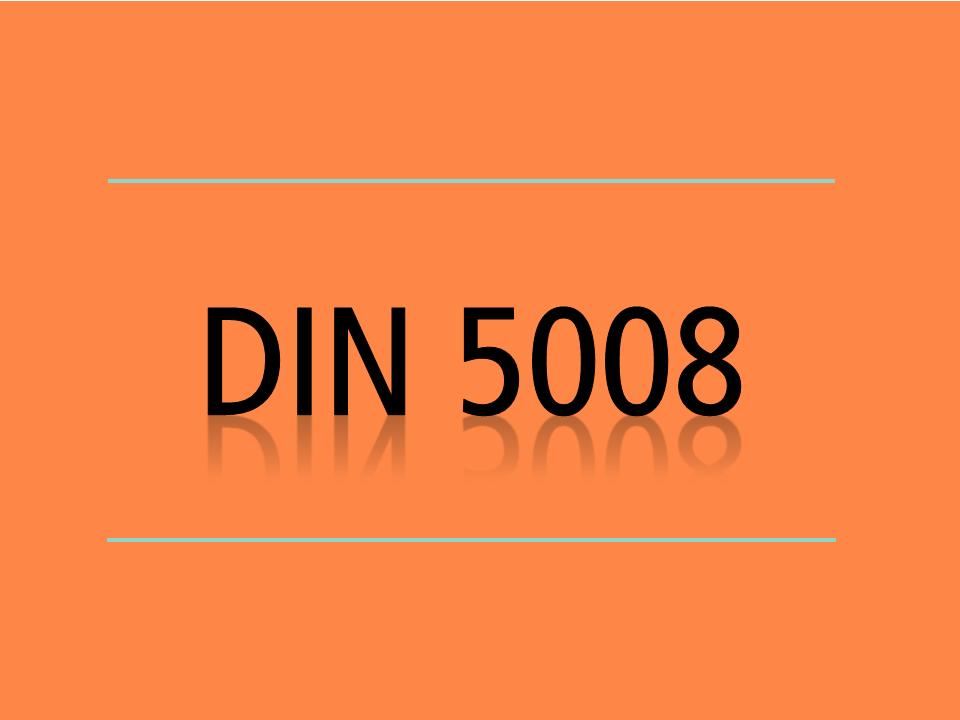 Was Sagt Die Din 5008 Zu Briefbogen Datum Anschriftenfeld Und Co