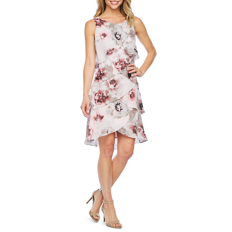 aab8bb362f S. L. Fashions Sleeveless Floral Shift Dress in 2019 | Products ...