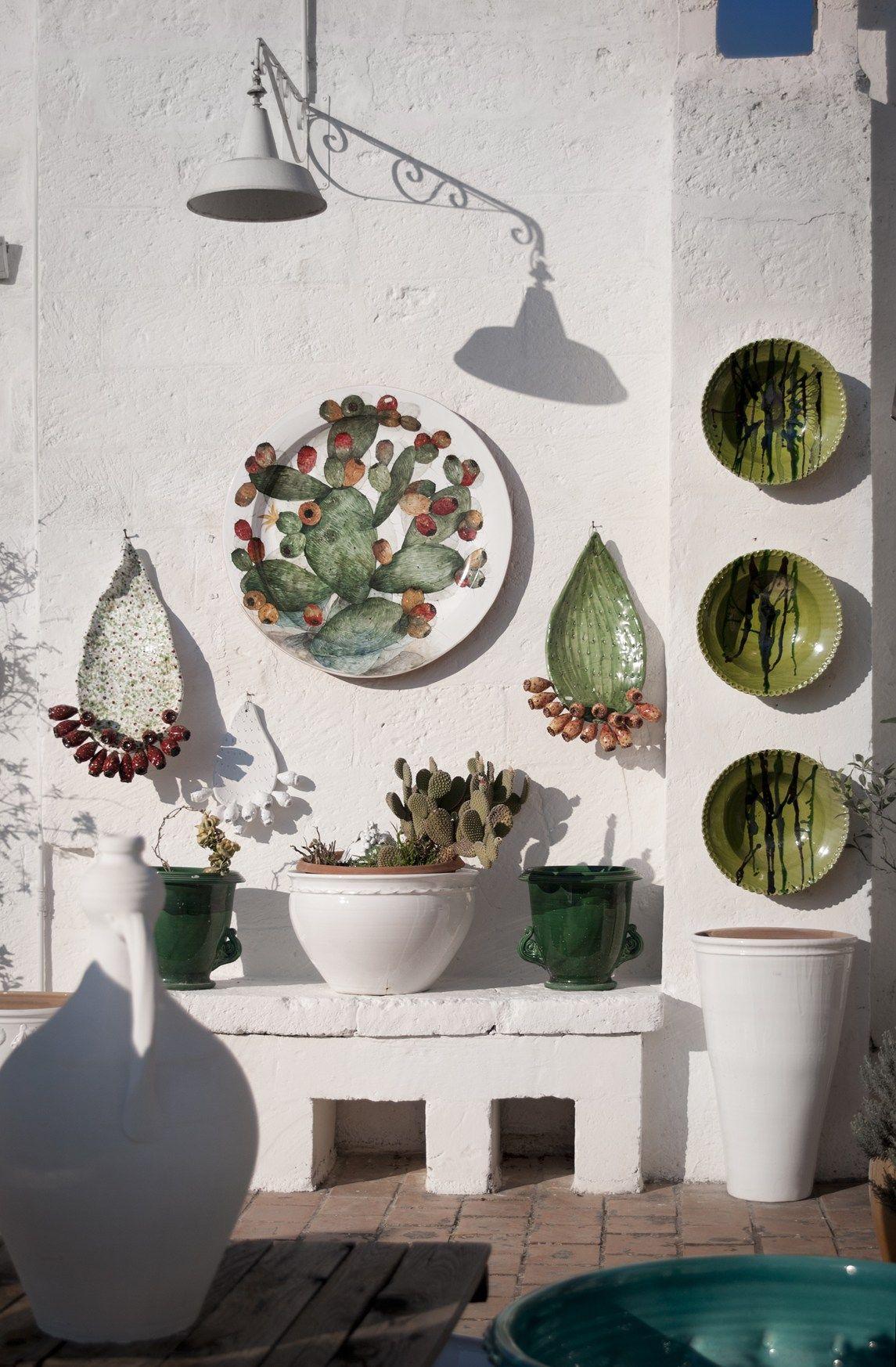 Ceramica Una Passione La Puglia Di Enza Fasano Nell Atelier Di  # Muebles Pazzione