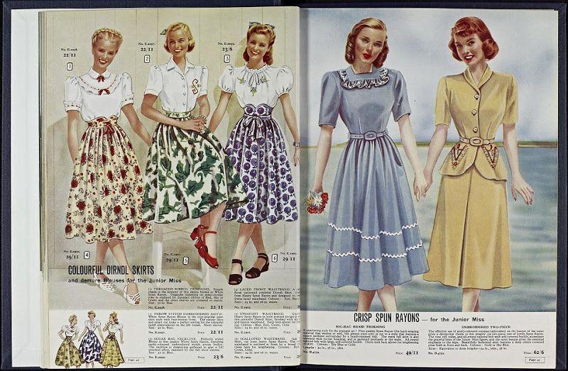 Image result for moda 1950 mujeres | faldas y vestidos 1950 | Pinterest