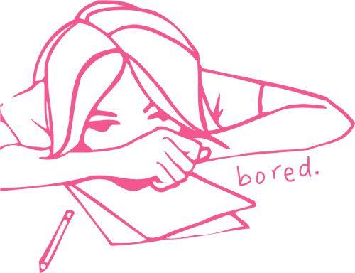 Bored,Girl