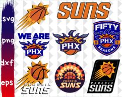 Clipartshopcreations On Zibbet Phoenix Suns Phoenix Suns Basketball Clip Art