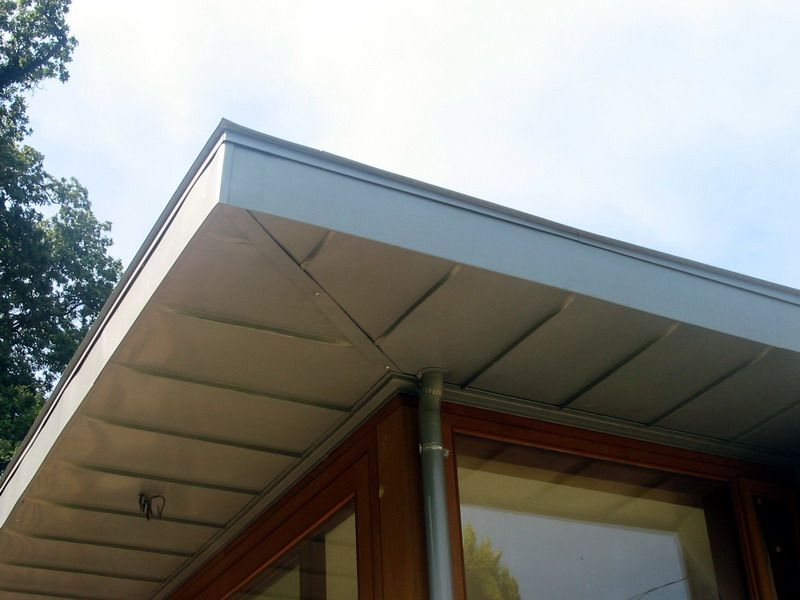 Flat Zinc Roof Overhang Google Search Zinc Pinterest