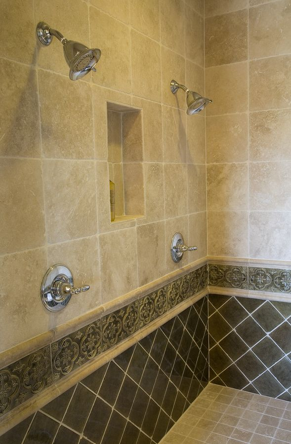 Pretty 12 X 12 Ceramic Tile Thin 2 X 4 Ceiling Tile Round 2 X 8 Glass Subway Tile 24 X 24 Ceramic Tile Youthful 24X24 Ceramic Tile Fresh24X48 Ceiling Tiles Love The Tile In This Bathroom. Needs A Second Niche, Wonder If ..