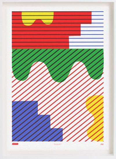 print & pattern blog - risotto studio. risograph prints from glasgow