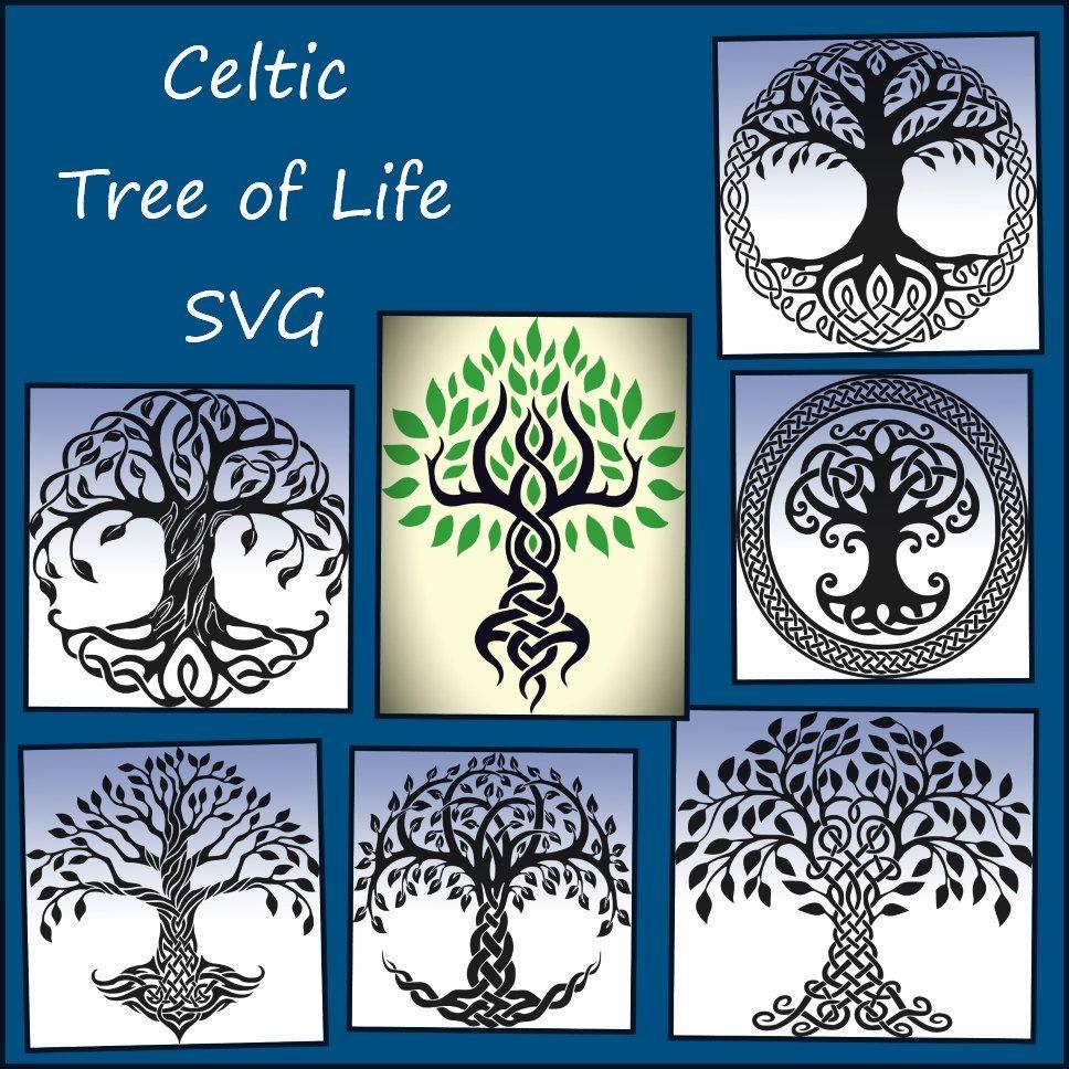 Celtic Tree of Life SVG - Tree of Life SVG Png Jpeg - Tree of life ...