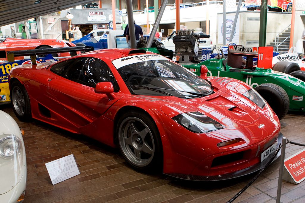 Mclaren F1 Gtr Chassis 10r National Motor Museum At