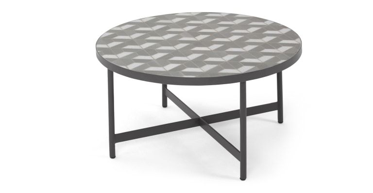 Indra Garden Coffee Table Grey And White Marble In 2020 Garden Coffee Table Coffee Tables Uk Coffee Table