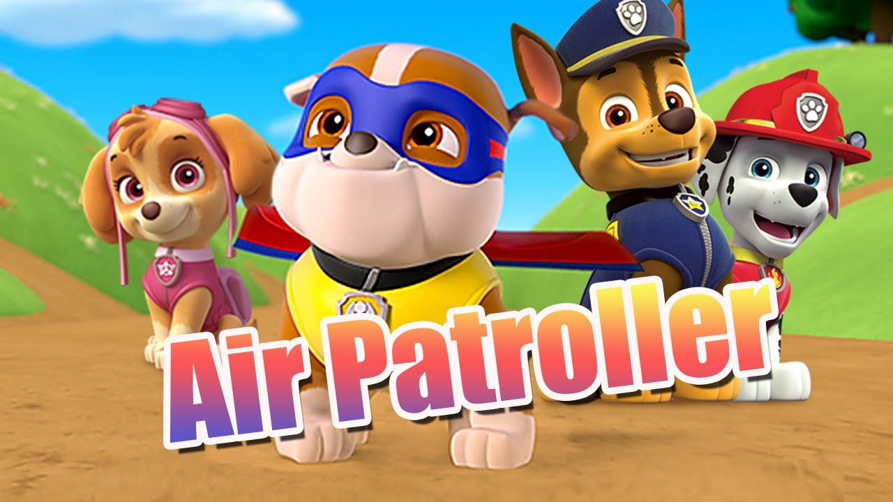 Paw Patrol Thanksgiving Coloring Pages To Print : Paw patrol air patroller game for kids full hd nickjr movie game