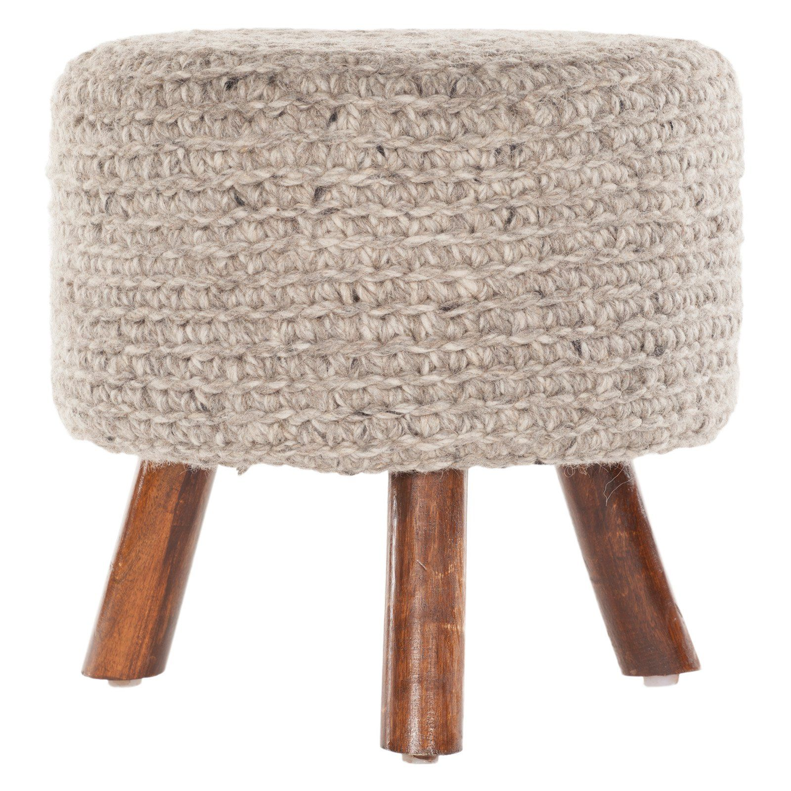 Chandra Ida Handmade Stool - From Hayneedlecom