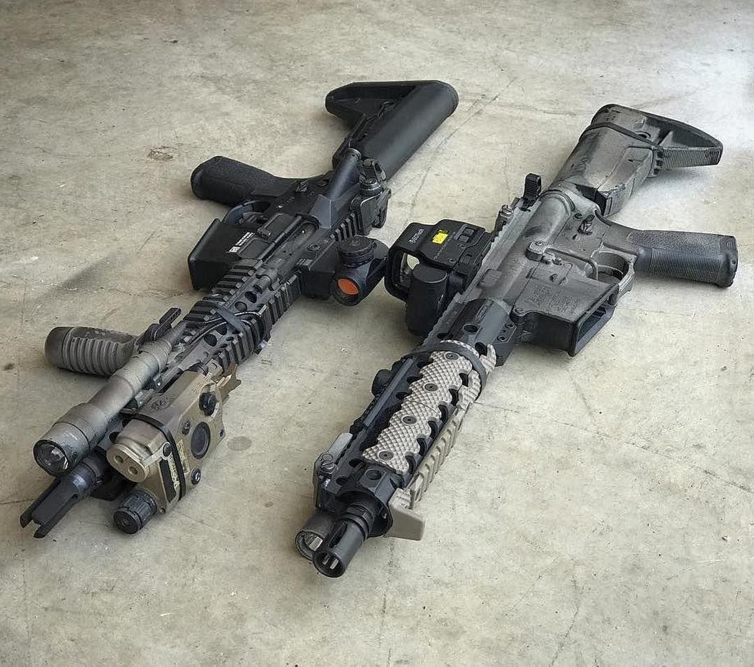how to build an m4 airsoft gun