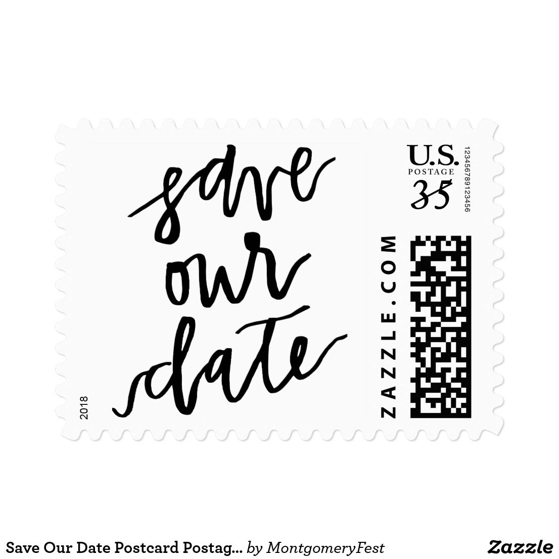 Save Our Date Postcard Postage Stamp   Invitations   Pinterest ...